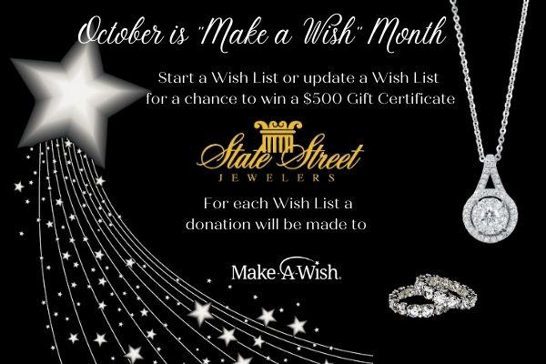 Make A Wish October