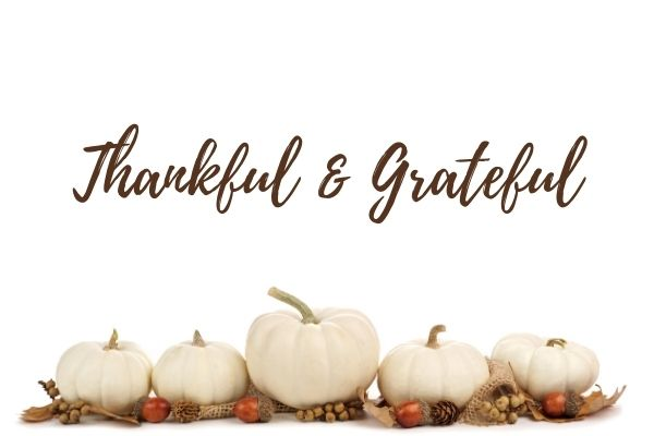 November Thankful & Grateful